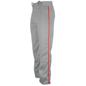 Eastbay Team Team チーム Relaxed Fit Piped Pants - Mens メンズ grey GRAY灰色・グレイ/Scarlet