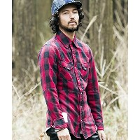 【SEVESKIG(セヴシグ)】SH-SV-NA-1003-WESTERN CRAZY CHECK SHIRT シャツ
