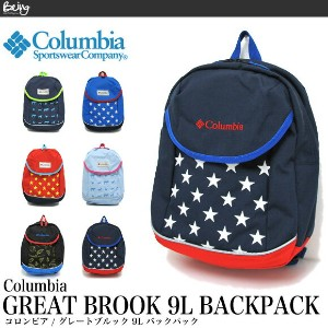 Columbia コロンビア キッズ リュック グレートブルック 9L バックパックPU8886 GREAT BROOK 9L BACKPACK 02P03Dec16