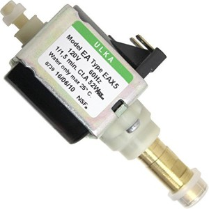 Ulka Pump Model EA Type EAX5 - 120V, 60Hz, 52W, NSF, brass output (D110) by ULKA