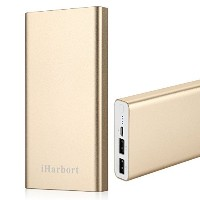 iHarbort® 10000mAh 大容量モバイルバッテリー iPhone / iPad / iPod / Xperia / Galaxy / Nexus / 3DS / PS Vita /...