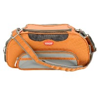 Teafco Argo Large Aero-Pet Airline-Approved Pet Carrier, Tango Orange by Teafco