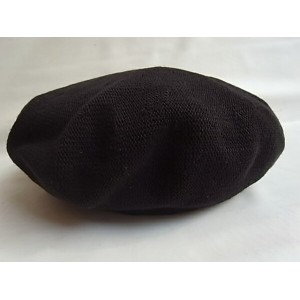 C-PLUS HEAD WEARS【BERET/COTTON】★BLACK★