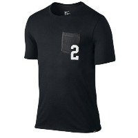 Nike Kyrie 2 Pocket T-Shirt メンズ Black/Anthracite/White ナイキ カイリー・アービング Tシャツ DRI-FIT