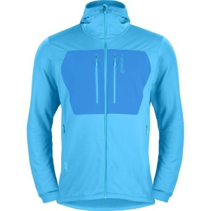 ノローナ Norr?na メンズ アウター ジャケット【Lyngen Powerstretch Pro Hooded Fleece Jacket】Caribbean Blue