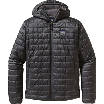 パタゴニア Patagonia メンズ アウター ジャケット【Nano Puff Hooded Insulated Jacket】Forge Grey