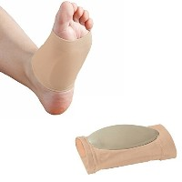 Medipaq Pair Gel Plantar Fasciitis Foot Arch Support Sleeve 1X Pair by Medipaq