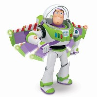 【Toy Story 】 Buzz Lightyear Action Figure by  Thinkway Talking Toys -- 12''バズ・トーキング・バズライトイヤー...