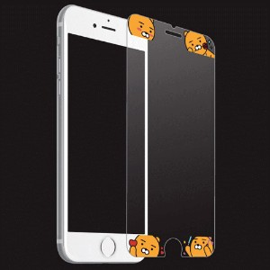 Kakao Friends Tempered Glass Film iPhone7/7Plus ケース/iPhone6/6Plus/6S/6SPlus ケース/iPhone 5/5S/SE...