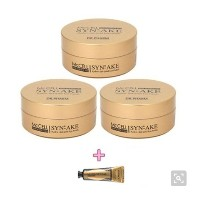 [Dr.Pharm] 韓国コスメドクターパム シンエイク ゴールド Gel アイパッチ3本セット McCELL Synake gel gold 毒蛇アイパッチ 本品 3個/黄金therapy★...