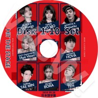 【KPOP DVD】?  HIT THE STAGE 10枚SET 完 (2016.07.27-09.28) ?  SHINee-Taemin/ Block.B-U-Kwon/ Twice-Momo...