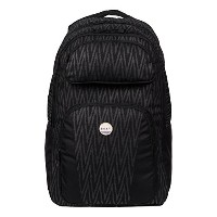 [アメリカ直送]Roxy Junior s Drive Out Backpack  Black Chevron  One Size