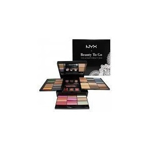 [アメリカ直送]Nyx Makeup Set Beauty to Go-the Ultimate Beauty Box #S117