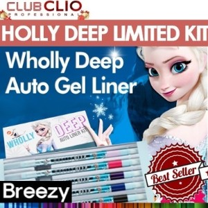 BREEZY ★ LIMITED KIT ★ [Clio] PERIPERA WHOLLY DEEP AUTO GEL LINER /
