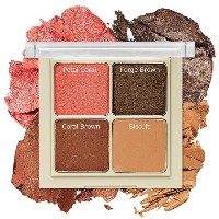 ETUDE HOUSE Blend For Eyes Eye Shadow Palette #6 Blooming Coral / Eye Make Up / Eyes Shadow Kit / 4...