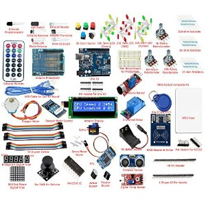 Frentaly? Super Value Ultimate UNO R3 Starter Kit SK#1 for Arduino Stepper Servo Motor Relay RTC RFID Display kit [並行輸入品]