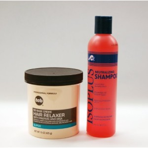 ISOPLUS Neutralizing Shampoo 8oz + TCB Hair Relaxer SUPER 15oz Combo by ISOPLUS & tcb [並行輸入品]