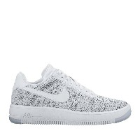 NIKE W AF1 FLYKNIT LOW (WHITE/WHITE-BLACK) (ナイキ ウィメンズ AF1 フライニット ロー) 【レディース】【スニーカー】【ICONS】【17FA-I】