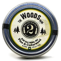 The Woods Beard Balm - Pine and Cedarwood - Essential Oil Scented Beard Conditioner Beard Balm by...