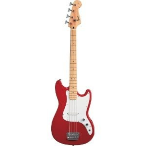 Squier by Fender フェンダー Bronco Bass, Torino Red エレキギター エレクトリックギター【並行輸入】