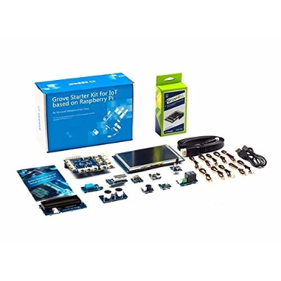 Grove Starter Kit for IoT based on Raspberry Pi - スターターキット for Microsoft Windows IoT and Azure