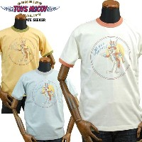 TOYS McCOYトイズマッコイ ミリタリーTシャツ BUGS BUNNYバッグスバニー「JOIN UP WITH US」TMC1710
