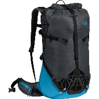 (取寄)ノースフェイス シャドー 40+10 バックパック The North Face Men's Shadow 40+10 Backpack Asphalt Grey/Hyper Blue
