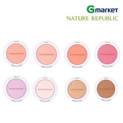 【NATURE REPUBLIC】【ネイチャーリパブリック】バイ フラワー ブラッシャー/By Flower Blusher/5.5g/チーク/カラーチーク/クッションチーク/カラークッションチーク...