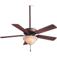 Minka Aire F548-ORB Three Light Oil Rubbed Bronze Ceiling Fan by Minka-Aire