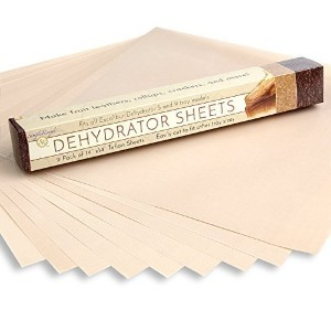 "9-pack of High Quality 14""x14"" Non-stick Dehydrator Sheets-fits Excalibur 2500,3500,2900 or 3900 ..."