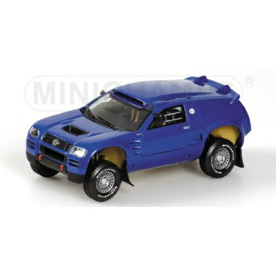VOLKSWAGEN | RACE TOUAREG HOMOLOGATION VERSION 2003 | BLUE MET /Minichampsミニチャンプス 1/43 ミニカー
