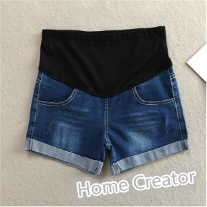 Pregnant women underwear pants thin section of maternity dress lace pants denim shorts care belly