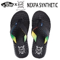 Vans バンズ/ビーチサンダル/2017年SPRING/SURF COLLECTION/NEXPA SYNTHETIC Sandal/(BROTHERS MARSHALL)BLACK/26・27...