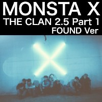 すぐ発送可能 MONSTA X 3rd Mini Album THE CLAN 2.5 Part.1 FOUND Ver ポスター切れ (韓国盤)