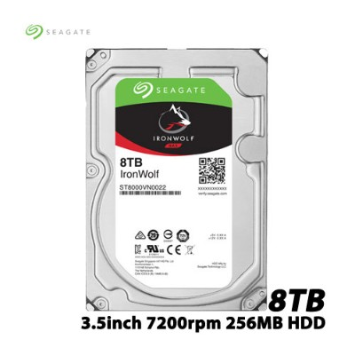SEAGATE(シーゲート) ST8000VN0022 [NAS向けHDD IronWolf(8TB 3.5インチ SATA 6G 7200rpm 256MB)]