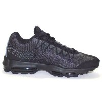 "Nike Air Max 95 ""Ultra JCRD"" メンズ Black/Dark Grey/White/Silver ナイキ スニーカー エアマックス95"