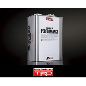 【 4リットル缶 】 TRD エンジンオイル「Performance」 0W-30 / 4L缶 品番: A0410-A0041 / TRD ENGINE OIL Series