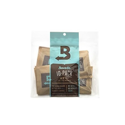 Boveda 62% Rh 2-Way Humidity Control, 8 g, 10 Pack by Boveda [並行輸入品]