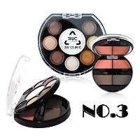 [3W Clinic] 3ゾーンキット12カラーパレットNO.3 / 3 Zone Kit 12 Color Palette NO.3 / アイ+ハイライター+チークゾーン / Eye +...