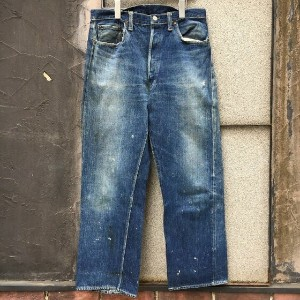 "1947-52's Levi's501xx""Leather Patch""(リーバイス ダブルエックス ヴィンテージ)アメリカ直輸入"
