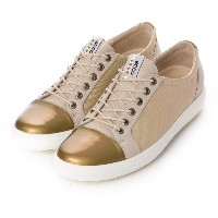 【SALE 50%OFF】エコー ECCO WOMENS GOLF CASUAL HYBRID (Beige) レディース