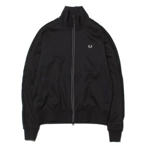 【SALE 30%OFF】フレッドペリー FRED PERRY atmos TRACK JACKET atmos別注(BLACK)】