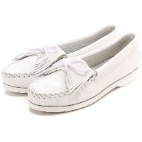 ミネトンカ MINNETONKA KILTY  UNBEADED(WHITE) レディース