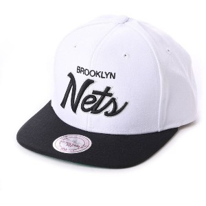 【SALE 40%OFF】ミッチェル アンド ネス MITCHEL & NESS atmos THROWBACK SNAPBACK (WHITE)