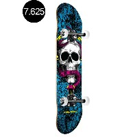 【POWELL PERALTA パウエル・ペラルタ】7.625in x 31.625in SKULL AND SNAKE CMYK COMPLETEコンプリートデッキ(完成組立品)スケートボード...