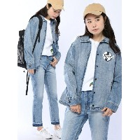 [Rakuten BRAND AVENUE]【SALE/47%OFF】DENIM COACH JACKET X-girl エックスガール コート/ジャケット【RBA_S】【RBA_E】【送料無料】
