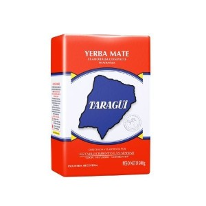 (Taragui) Taragui Yerba Mate Loose Leaf with Stems  Red Pack  500-Gram Packages (Pack of 10)