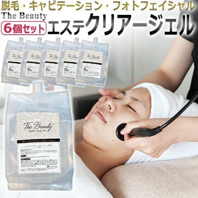 The Beauty ESTHE CLEAR ジェル 2kg×6個 業務用 国産 クリアージェル お買い得12kgセット / T001