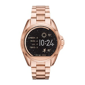 レディース MICHAEL KORS ACCESS Bradshaw Touchscreen Smartwatch スマートウォッチ カッパー