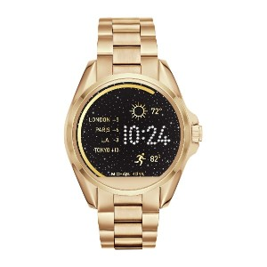 レディース MICHAEL KORS ACCESS Bradshaw Touchscreen Smartwatch スマートウォッチ ゴールド